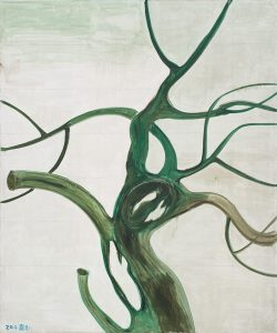 "ZHANG Enli Oil on canvas   300*250cm (118""*98"")"